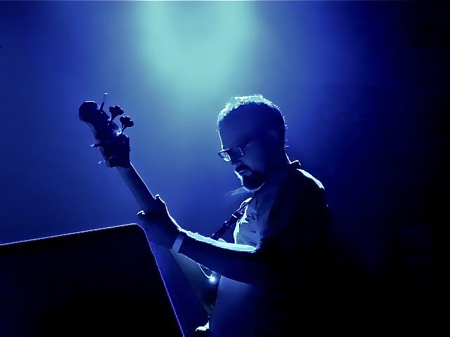Paul Bender of Hiatus Kaiyote on Bass.