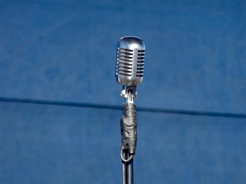 Charles Bradley's mic.