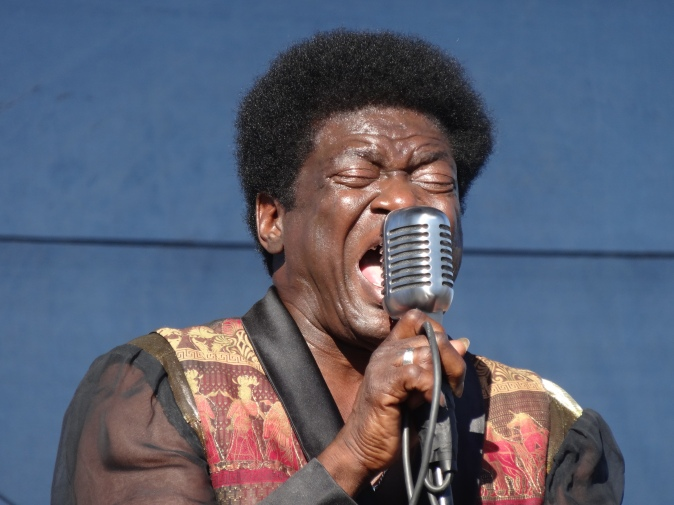 The emotion of Charles Bradley.