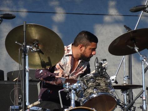 Charles Bradley's drummer.