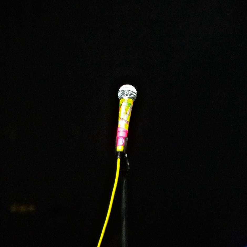 Karen O's mic.