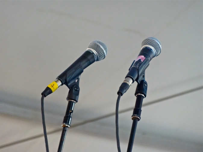 How To Dress Well's double mics.