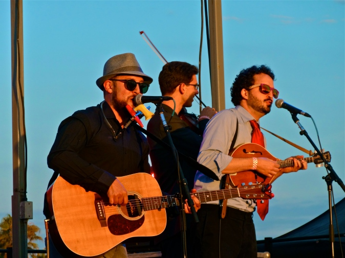 Members of the Dustbowl Revival