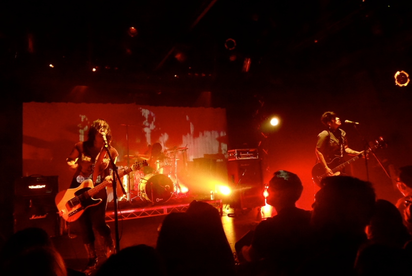 Girl in a Coma at the Echoplex.