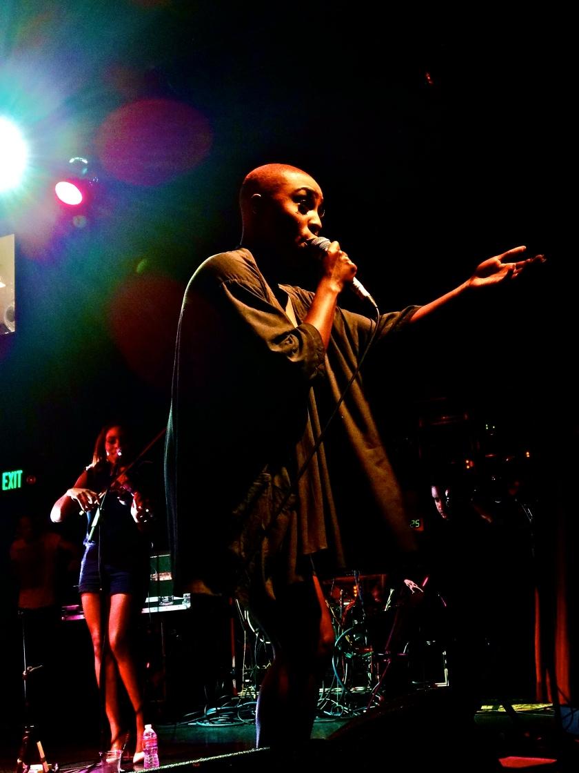 Laura Mvula at the El Rey Theatre 9/17/13