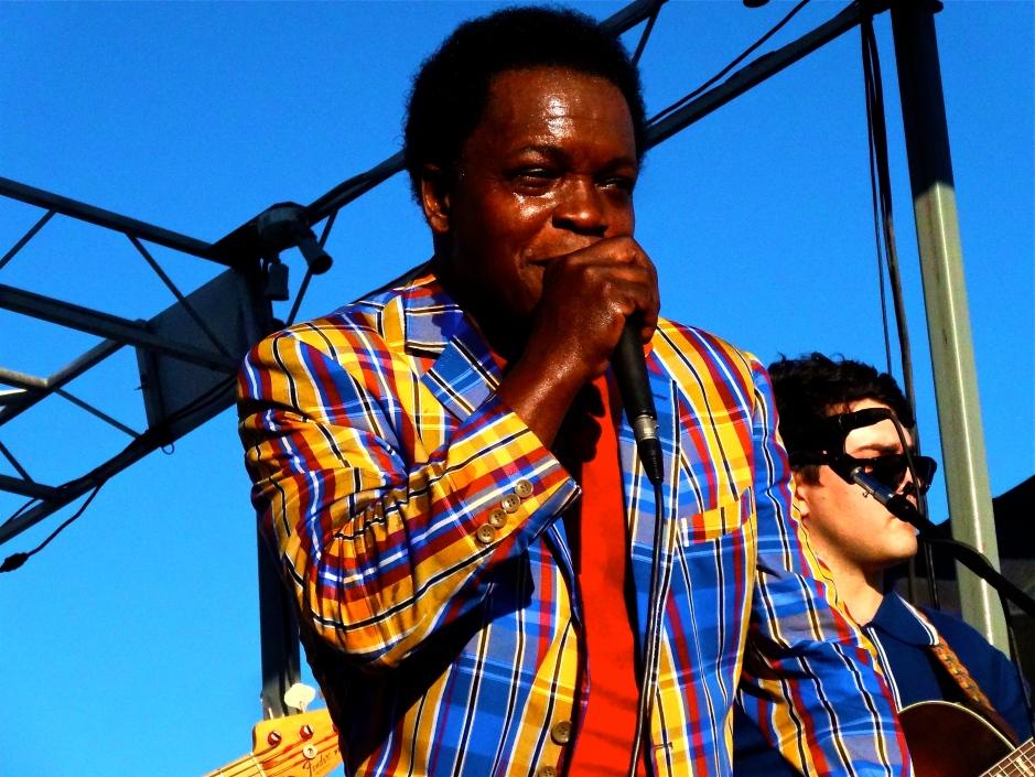 Lee Fields performing at The Beach Ball Festival 9/21/13 [@methodman13]