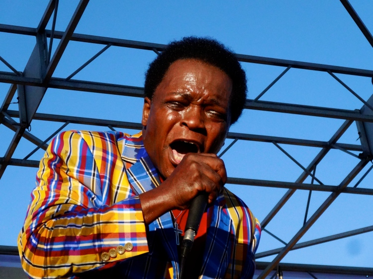 Lee Fields performing at The Beach Ball Festival 9/21/13 [@methodman13]
