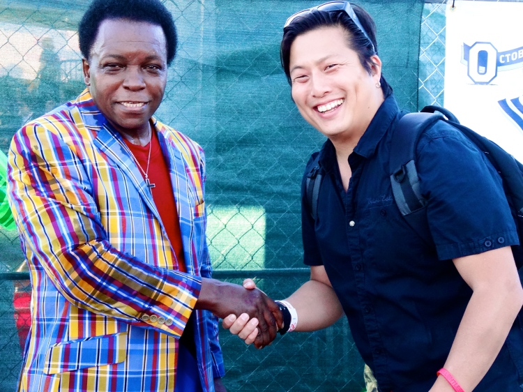 Me and Lee Fields.