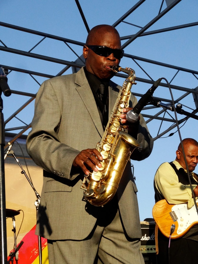 Maceo Parker performing at The Beach Ball Festival 9/21/13 [ig: @methodman13]