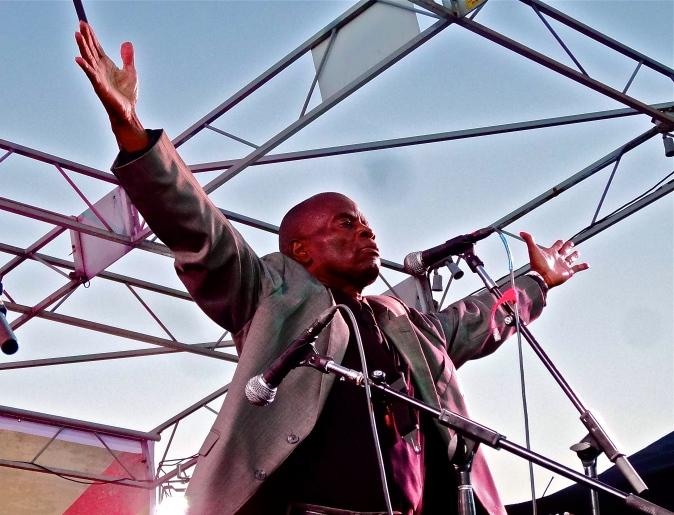 Lee Fields at The Beach Ball Festival 9/21/13 [ig: @methodman13]