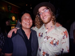 Me and Allen Stone at the Kings Head after the Ball Festival 9/21/13 [ig: @methodman13]