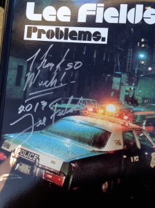 """My """"Problems"""" LP signed by  Lee Fields!"""