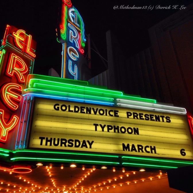 Typhoon | El Rey Theatre | 3/6/14