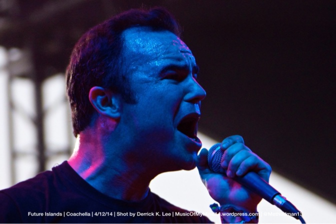 Future Islands | Coachella | 4/12/14 (PHOTOS)