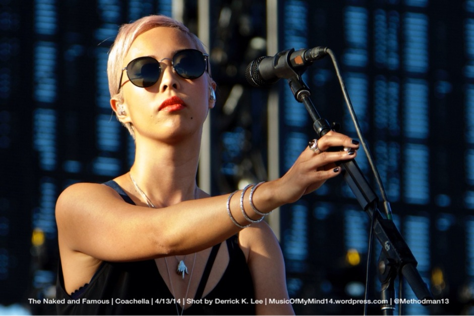 The Naked and Famous | Coachella | 4/13/14 (PHOTOS) – MUSICOFMYMIND14