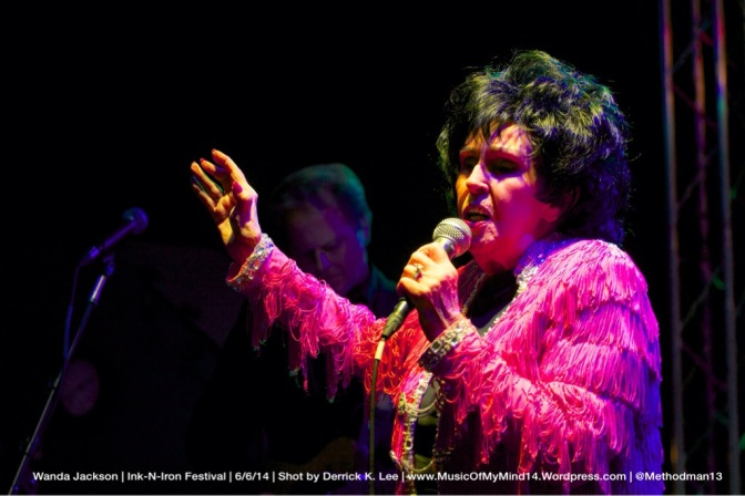 Wanda Jackson | Ink-N-Iron | 6/6/14 [PHOTOS]