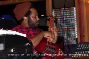 Thundercat deep in the moment