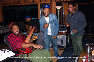 Thundercat, Terrace Martin and Ron Bruner hamming it up