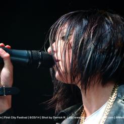 Phantogram   First City Festival 2014