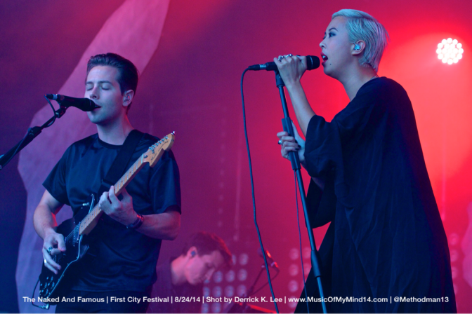 The Naked And Famous | First City Festival | 8/24/14 [PHOTOS]