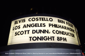 Elivs Costello | Hollywood Bowl