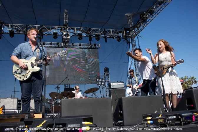The Lone Bellow | Way Over Yonder | Santa Monica Pier | 9/27/14 [Photos]