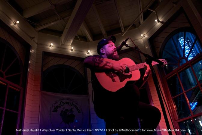 Nathaniel Rateliff | Way Over Yonder | Santa Monica Pier | 9/27/14 [Photos]