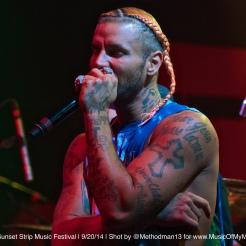 Riff Raff | Sunset Strip Music Festival 2014