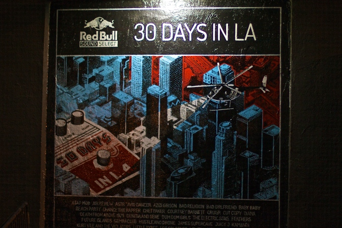 "Red Bull Sound Select's ""30 Days In L.A."" [Homepage]"
