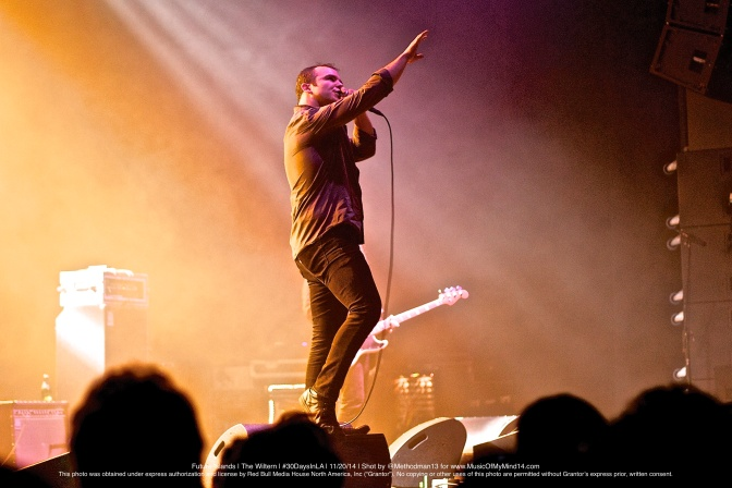 "Future Islands | The Wiltern | Red Bull Sound Select's ""30 Days In LA"" 