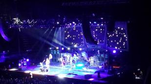 The space theme continued. (Boston in concert at the Forum.)