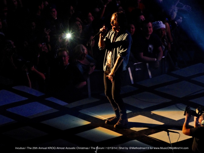 Incubus | The 25th Annual KROQ Almost Acoustic Christmas | The Forum | 12/13/14 [Setlist, Photos & Video]