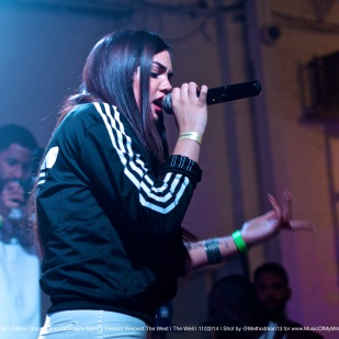"Raven Felix | Adidas Original ZXFLUX Experience and Cashmere Agency Present ""Respect The West"" Artist Showcase"