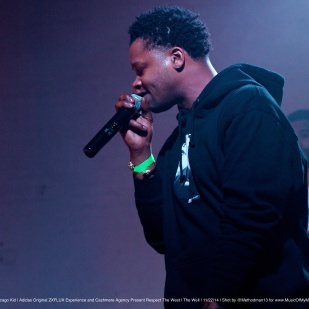 "Bj the Chicago Kid | Adidas Original ZXFLUX Experience and Cashmere Agency Present ""Respect The West"" Artist Showcase"