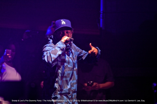 Kendrick Lamar | Snoop Dogg and Levi's Pre Grammy Concert | The Hollywood Palladium