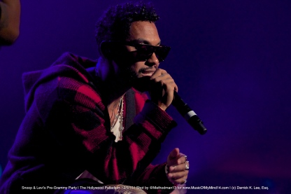 Miguel | Snoop Dogg and Levi's Pre Grammy Concert | The Hollywood Palladium