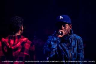 Kendrick Lamar & Miguel | Snoop Dogg and Levi's Pre Grammy Concert | The Hollywood Palladium