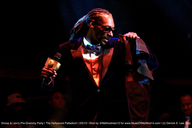Snoop Dogg and Levi's Pre-Grammy Concert | The Hollywood Palladium | 2/5/15 [SETLIST & VIDEOS]