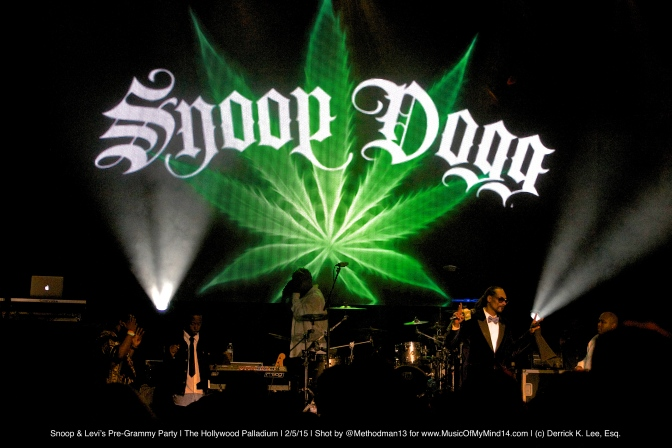 Snoop Dogg and Levi's Pre-Grammy Concert | The Hollywood Palladium | 2/5/15 [REVIEW]