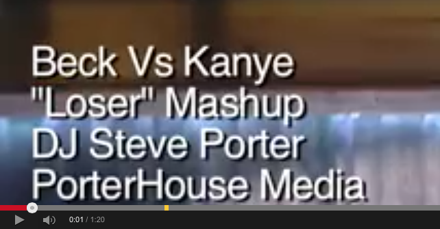 """Beck Vs Kanye """"Loser"""" Mashup by DJ Steve Porter"""