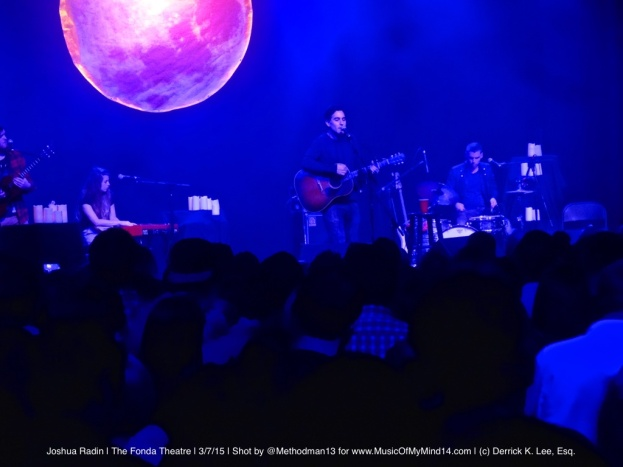 Joshua Radin | The Fonda Theatre | 3/7/15