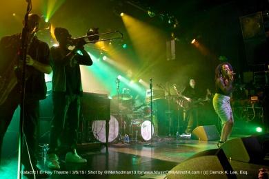 Galactic | El Rey Theatre | 3/5/15