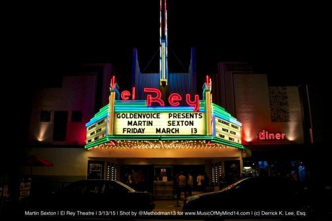 REVIEW: Martin Sexton | El Rey Theatre | 3/13/15