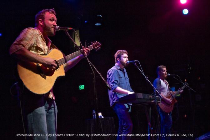 PHOTOS: Brothers McCann | El Rey Theatre | 3/13/15