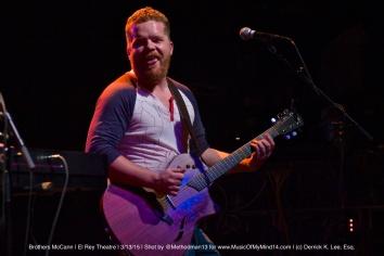 Brothers McCann   El Rey Theatre   3/13/15