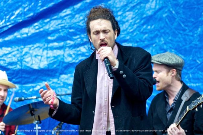 PHOTOS: Edward Sharpe & the Magnetic Zeros | Shaun White Presents AIR+STYLE | The Rose Bowl | 2/22/15