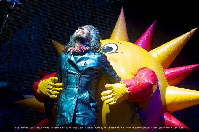 PHOTOS: The Flaming Lips | Shaun White Presents AIR+STYLE | The Rose Bowl | 2/22/15