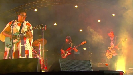 Alabama Shakes | Coachella | 4/10/15 | iPhone5 Screen Shot of Weekend 1 Live Stream Un-Leashed by T-Mobile