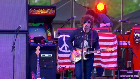 Ryan Adams| Coachella |4/12/15 | iPhone5 Screen Shot of Weekend 1 Live Stream Un-Leashed by T-Mobile