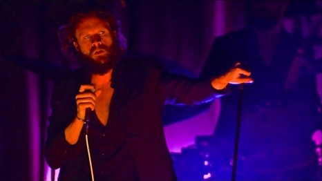 Father John Misty | Coachella | 4/11/15 | iPhone5 Screen Shot of Weekend 1 Live Stream Un-Leashed by T-Mobile